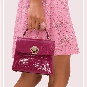 Brand New Kate Spade Croc - Mini Handbag